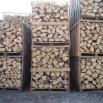 drewno kominkowe w skrzyniopaletach