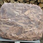 odpady drobne po produkcji drewna kominkowego