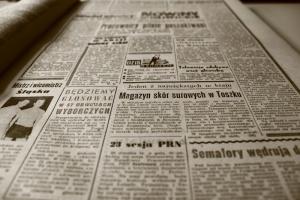 podpałka gazeta